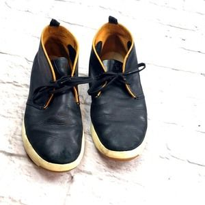Cole Haan  Black Leather Chukka Boot size 9.5M